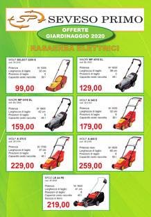 volantino offerte giardinaggio 2020